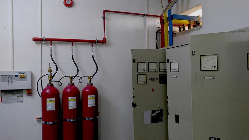 Gazlı Yangın Söndürme Sistemleri